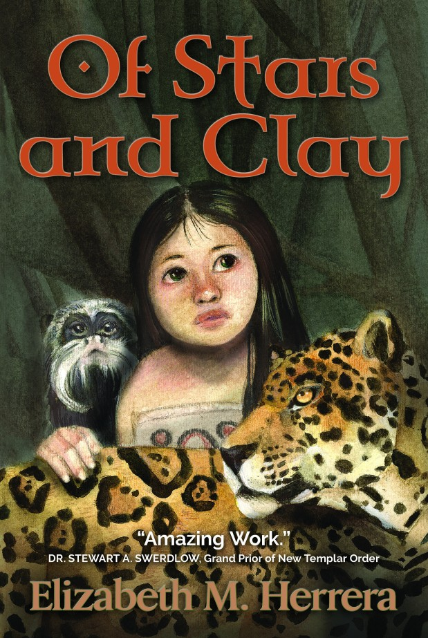 "New Cover Art for ""Of Stars and Clay"" Novel"